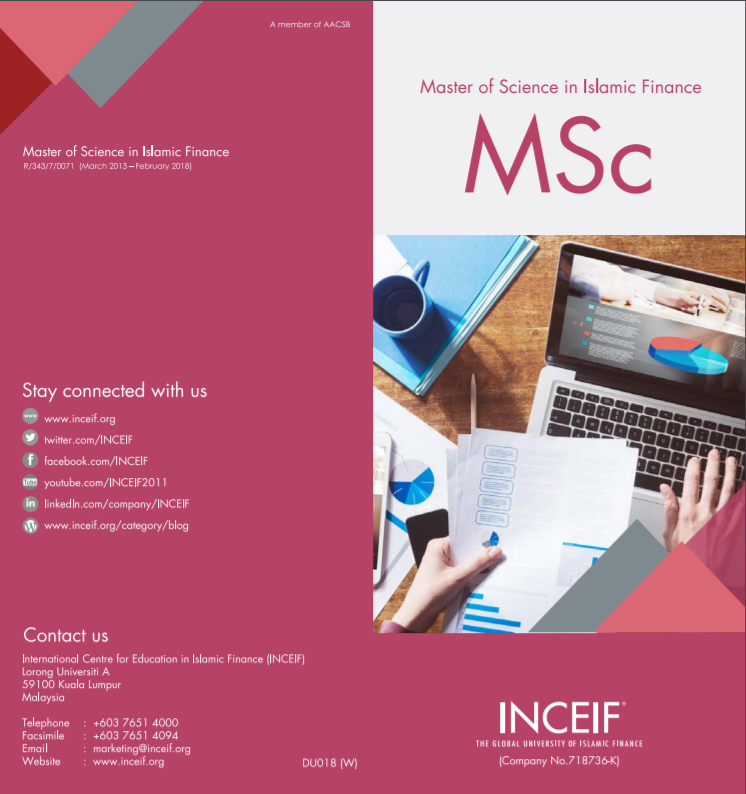 INCEIF | » Master of Science in Islamic Finance